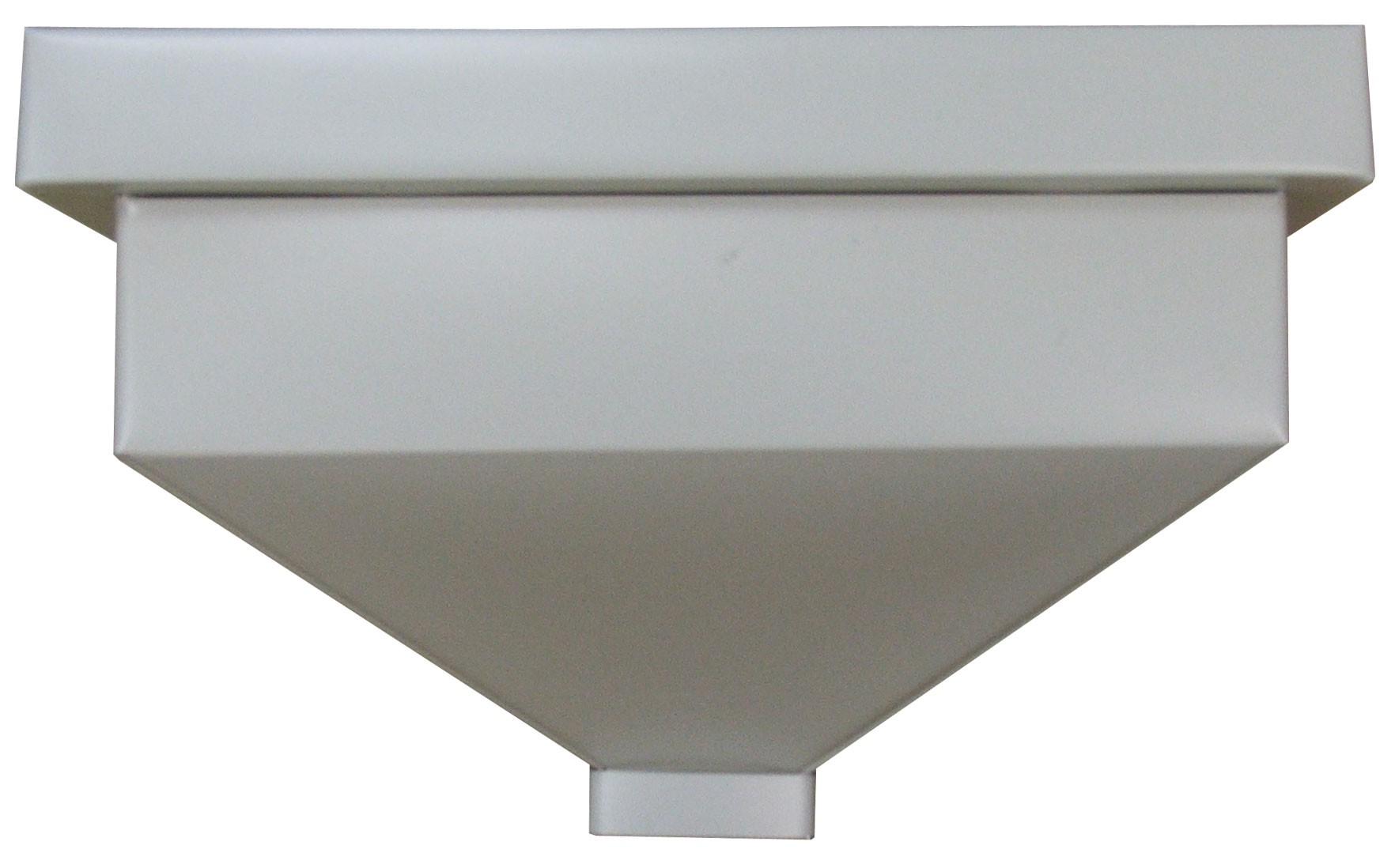Leader Heads And Conductor Heads : Plain conductor heads downspouts