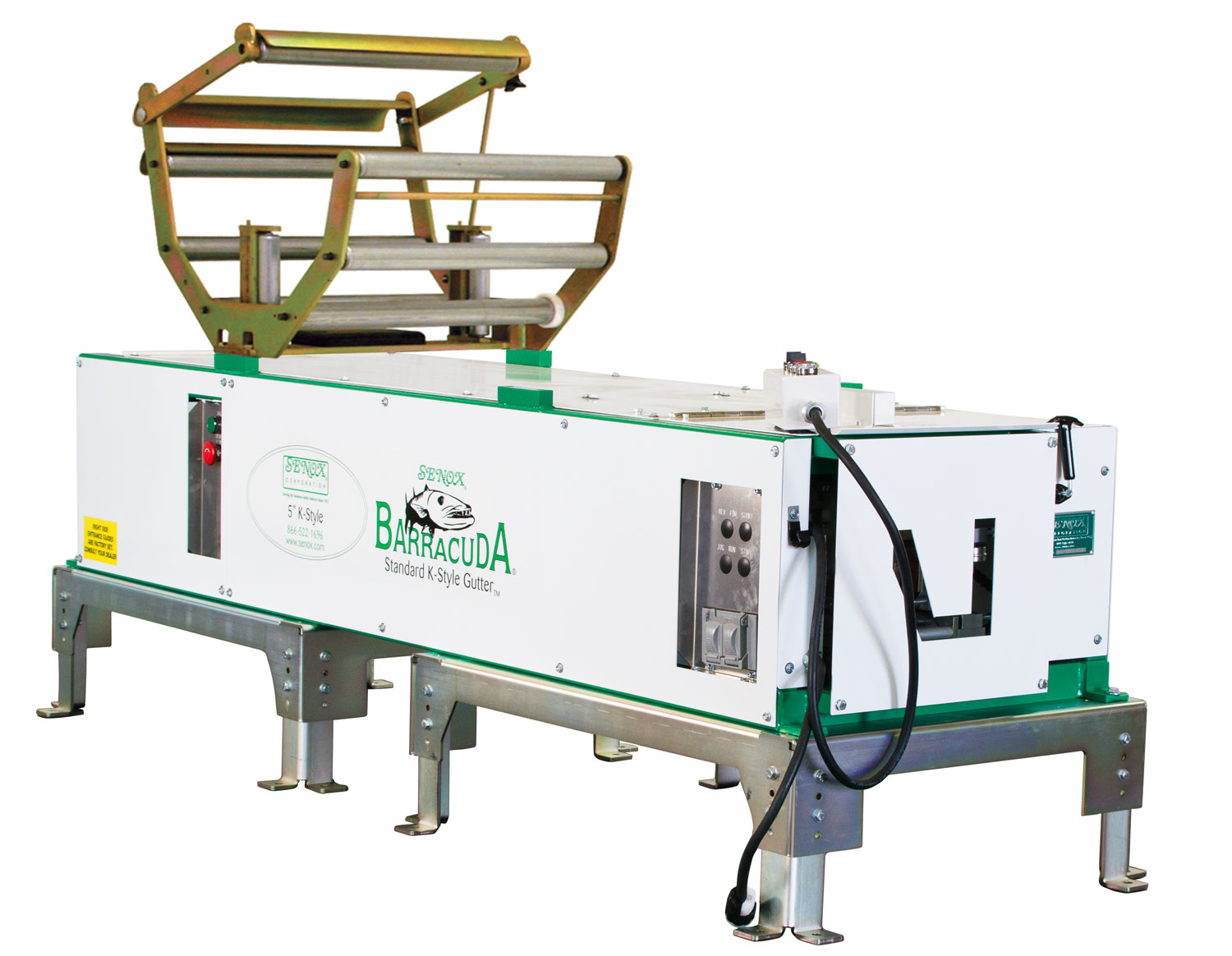K Style Gutter Machines Senox Corporation Serving The